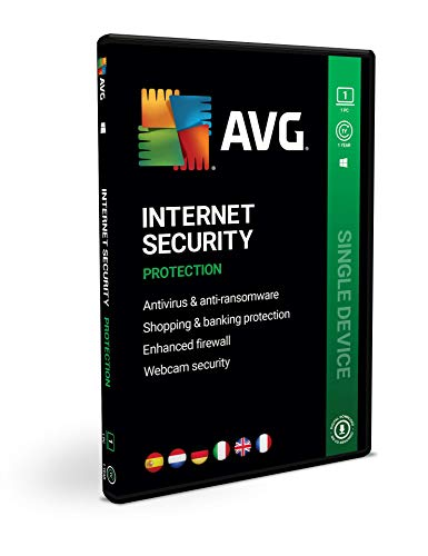 AVG Internet Security | 1 PC | 1 jaar | Box