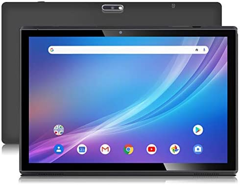 Android 10 Tablet with Case 3GB RAM 32GB Storage WiFi Tablets 10 Inch Voice Control with Google Assistant, Dual Speakers, Dual Cameras, Black