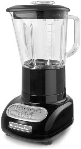 KitchenAid Batidora de 5 velocidades con vaso mezclador de vidrio: Amazon.es: Hogar