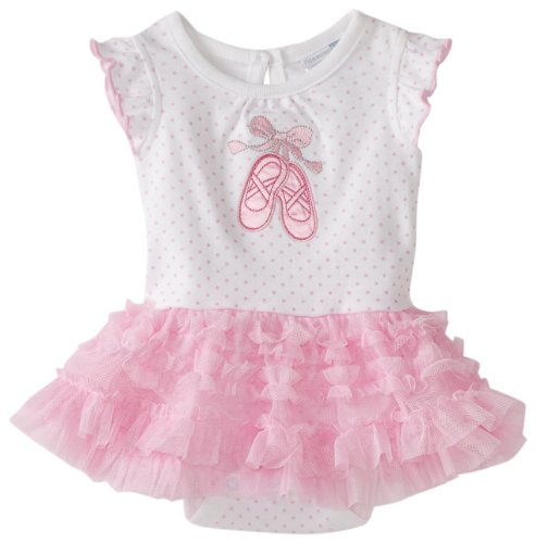 Vitamins Baby Baby Girls' Ballet Creeper Set