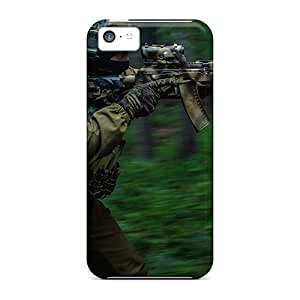 Faddish Phone Forest In The Special Forces Case For Iphone 5c / Perfect Case Cover