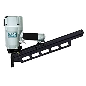 Hitachi NR83A2(S) Round Head 2-Inch to 3 1/4-Inch Framing Nailer (without Depth Adjustment)
