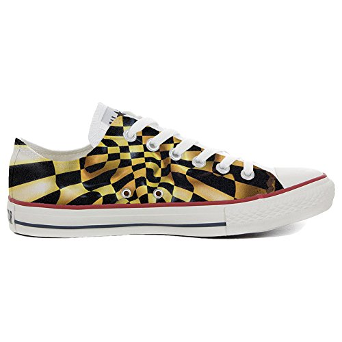 Converse All Star Customized - zapatos personalizados (Producto Artesano) Slim Chess fantasy