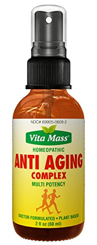 Vita Mass - Anti Aging Complex - Fast Acting Oral Spray - 2 oz - FDA (Anti Aging Testosterone)