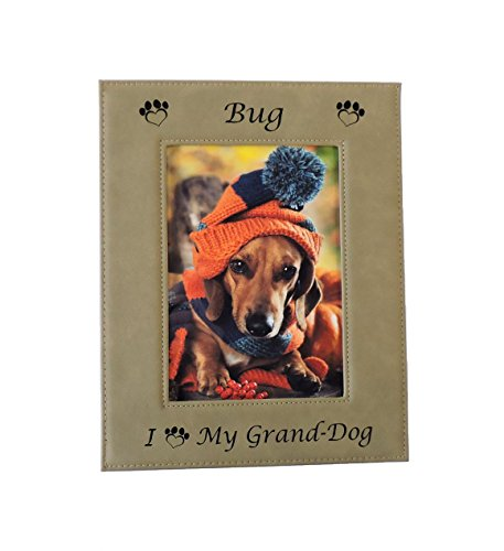 - Forever Me Gifts Granddog Photo Picture Frame Grand-Dog Grand Puppy