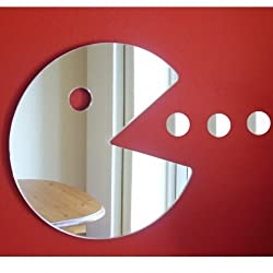 Super Cool Creations Pac Man - Hungry Man Mirror 12cm (5inch)