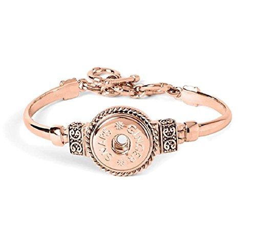 Ginger Snaps Rose Gold Enchantment Bracelet (Standard Size) SN95-62 Interchangeable Jewelry