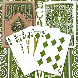New Trademark Bicycle Poker Playing Cards Eco Edition Made F