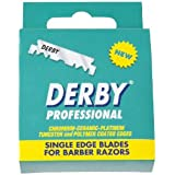 100 Derby Professional Single Edge Razor Blades