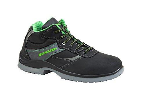 Dunlop First One High - Bottes de sécurité S3 SRC couleur : noir