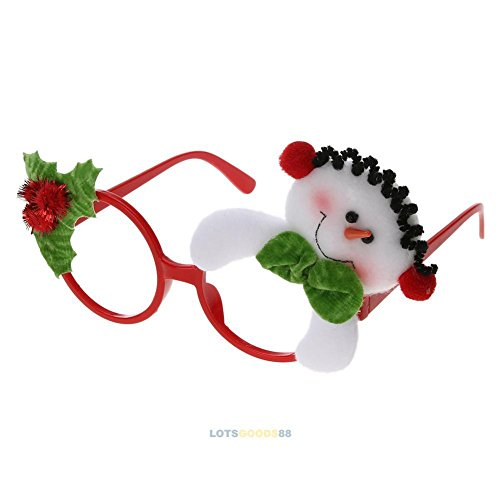 OKOKMALL US--Kids Adult Christmas Sunglass Eyeglass Costume Eye Frame Party Decor Gift - Sunglasses Star John Elton
