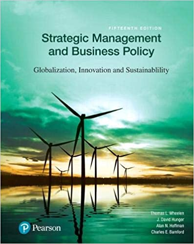 Strategic Management and Business Policy: Globalization, Innovation and Sustainability, Global Edition 15th Edition, Kindle Edition Image