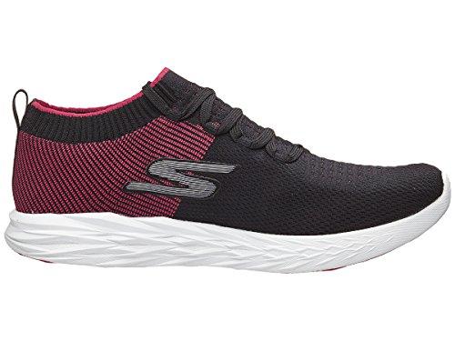 Skechers–Go Run 6Hombre Zapatillas Negro\r\n