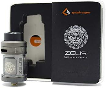 Geekvape Zeus RTA-Single Coil Atomizador de 2ml Sin nicotina (Gunmetal): Amazon.es: Salud y cuidado personal