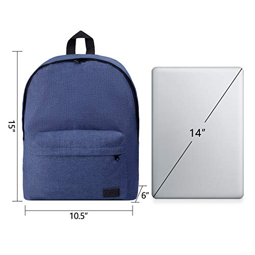 School Backpacks Shoulder Bag Casual Classic Daypack for Weekend Travel Hiking Camping with Adjustable Padded Shoulder Straps