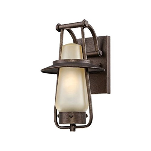 Stonyridge 7'' Wide ENERGY STAR Bronze Outdoor Wall Lantern by Designers Fountain