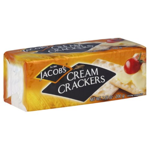 - Jacobs Crackers, Cream, 7.05-Ounce (Pack of 12)