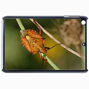 Customized Back Cover Case For iPad Mini 2 Hardshell Case, Black Back Cover Design Insect Personalized Unique Case For iPad Mini 2