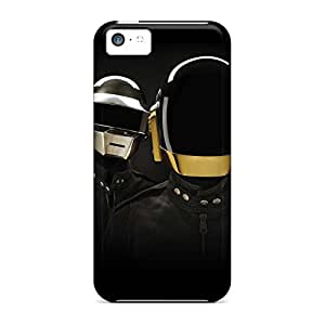 iphone 4 /4s Shock Absorbent phone case skin Perfect Design cover electronic duo daft punk