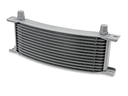 Earl\'s 71308ERL Temp-A-Cure Curved Oil Cooler