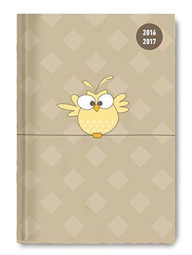 Collegetimer Bird 2016/2017 - Schülerkalender A5 - Day By Day - 352 Seiten