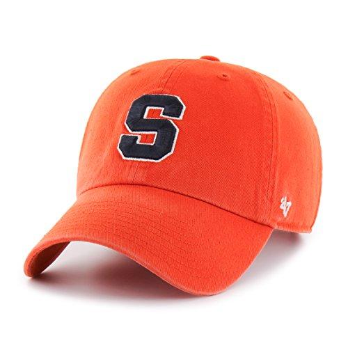Ncaa Syracuse Orange Clean Up Adjustable Hat  One Size  Orange