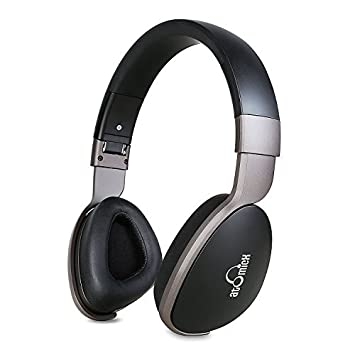 iDeaUSA Auriculares estéreo de diadema con Bluetooth, con o sin cable, micrófono, Mega