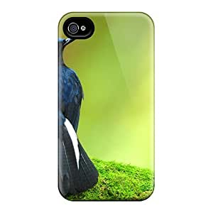Tough Iphone Ics8576QxHu Cases Covers/ Cases For Iphone 6plus(beautiful Tail Bird)