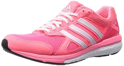 adidas Adizero Tempo 7 W, Rose/Blanc, 5,5-Nous Pink/White