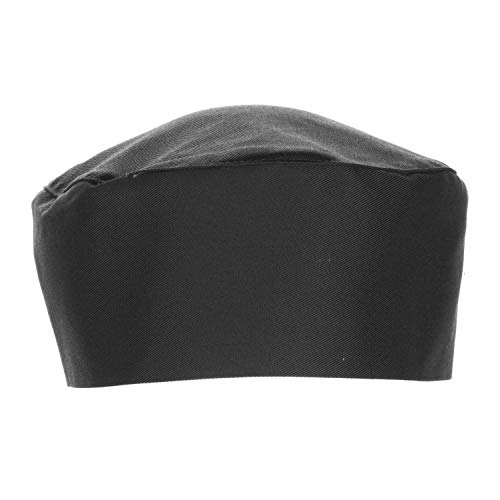 Chef Works Unisex Chef Beanie, Black