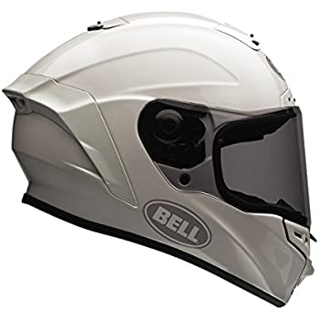 Bell Street Star Full Face Motorcycle Helmet (Solid White, Large) (Non-Current Graphic)
