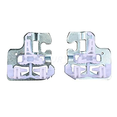 Window Regulator Repair Kit Clip fits BMW X5 E53 2000-2006 Front Left & Right, 2 Pcs - Window Regulator Repair