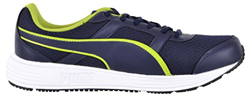 Puma Mens Harbour DP Peacoat-Limepunch Running Shoes - 10 UK/India (44.5 EU)(18931308)