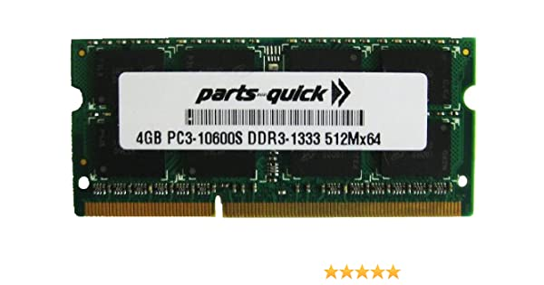 4GB PC3-12800 DDR3 1600 MHz Memory RAM for ASUS X54C