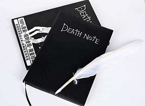 Anime Death Note Notizbuch von Light Yagami mit Schreibfeder (21 * 14.5 Manga Version)
