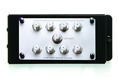 Legrand - On-Q VM1002 1X8 Enhanced Passive Video Splitter
