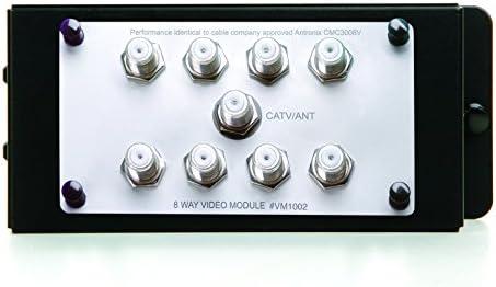 Legrand – OnQ VM1002 1X8 Enhanced Passive Video Splitter, Silver