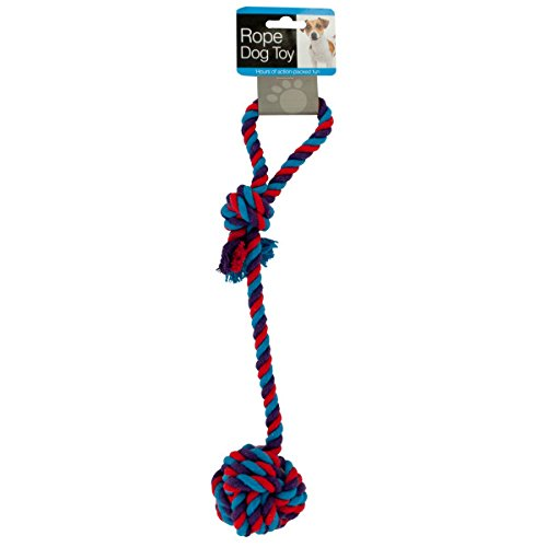 Bulk Buys Dog Rope Toy with Knotted Ball