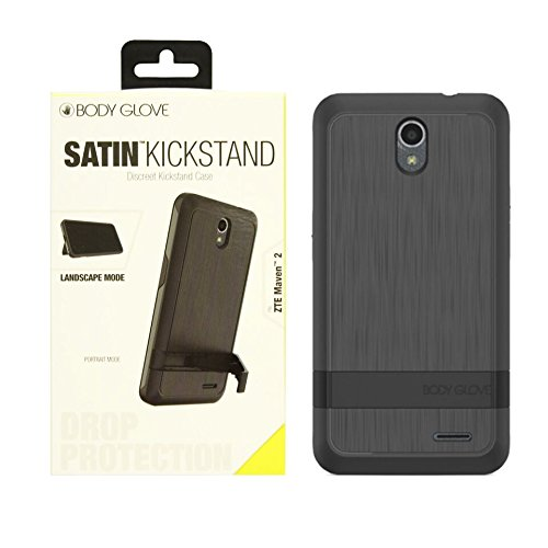 (Body Glove Satin Kickstand Case for ZTE Maven 2 - Retail Packaging -)