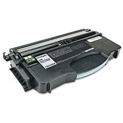 (Genuine OEM brand name LEXMARK E120N Black RETURN PROGRAM Cartridge (2K Yield) 12015SA)