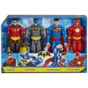 4 figurine justice league