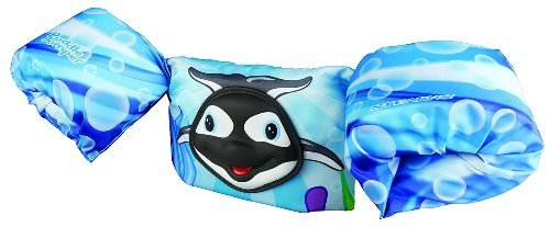 Buy Stearns Puddle Jumper Deluxe 3d Life Jacket Orca 30 50 Lbs At Amazon In