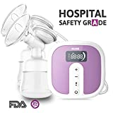 Electric Double Breast Pumps [Hospital Grade] by IKARE, Portable Breast Pump with Rechargeable