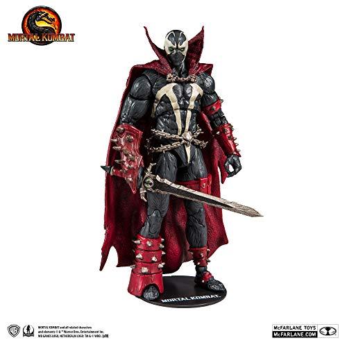 🥇 McFarlane Toys Mortal Kombat Spawn Action Figure