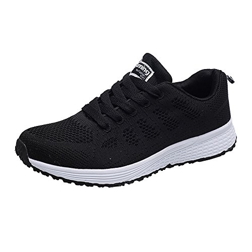 (Answerl☀ Women's Tennis Air Running Shoes Gym Sport Workout Fitness Athletic Sneakers Casual Walking Shoes)