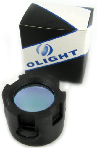 Olight M20 Flashlight Red Filter Lens Cap - coolthings.us