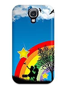 Fashion Protective Vector Art Case Cover For Galaxy S4