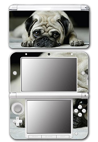 Dog Puppy Cute Put Design Video Game Vinyl Decal Skin Sticker Cover for Original Nintendo 3DS XL System