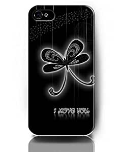 UKASE Mobil Phone Case for iPhone 5 5s with Amazing Designed Pattern of Butterfly with Shiny Diamonds