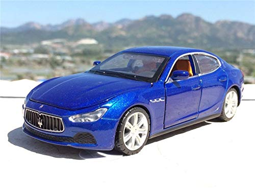 GreenSun 1:32 Maserati Ghibli Coupe Toy Vehicles Model Alloy Pull Back Genuine License Off-Road Car Children Toys Gift